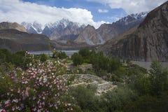 Hunza-Tal, Platz in Gilgit Pakistan lizenzfreie stockfotografie