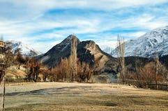 Hunzavallei, Karakoram-Bergenwaaier Stock Afbeelding