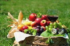 Hupe von viel - reiche Herbsternte Lizenzfreie Stockbilder