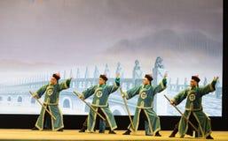 "huperetes山西Beijing†的Operatic""Fu单 免版税图库摄影"