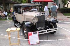 1929年Hupmobile世纪六轿车 免版税库存图片