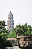 Huqiu tower Royalty Free Stock Images