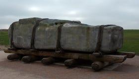 Hur dem rörda Stonehenge Fotografering för Bildbyråer