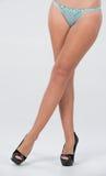 Hur egentligen sexiga ben och skor kan vara. Royaltyfri Fotografi