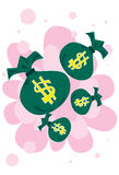 hur gör pengar till, Royaltyfri Bild