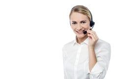 Hur kan jag hjälpa dig i dag? Royaltyfri Foto