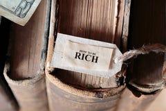 Hur man är Rich Concept Royaltyfria Bilder