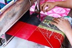 Thailändsk silk. Royaltyfria Bilder