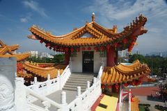 hur thean tempel arkivfoton