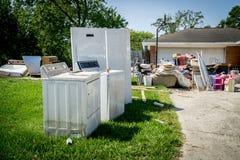 Huracán Harvey Aftermath fotografía de archivo libre de regalías
