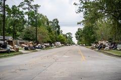 Huracán Harvey Aftermath foto de archivo