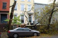 Huracán Sandy Fotos de archivo libres de regalías
