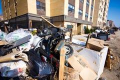 Huracán Sandy Fotografía de archivo libre de regalías
