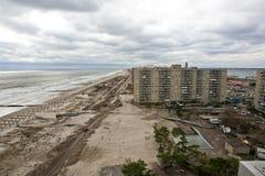 Huracán Sandy de las consecuencias Fotografía de archivo