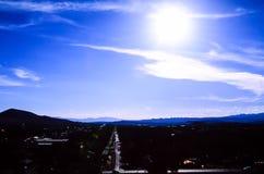 Huragan, południowy zachód Utah Fotografia Royalty Free