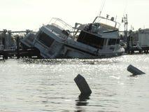 Huraganowa Irma szkoda Obraz Royalty Free