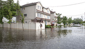 huraganowy Irene obraz stock