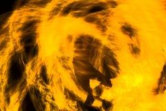 Huraganowy pomarańcze ogień Zdjęcie Stock