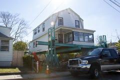Huraganowy Sandy - 1 roku Opóźneni średniogórza Zdjęcie Royalty Free