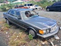 Huraganowy zniszczenie w StThomas, Karaiby zdjęcie royalty free