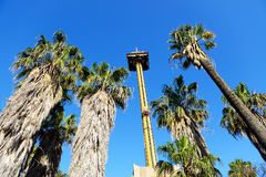 The Hurakan Condor Ride in Port Aventura theme park Royalty Free Stock Photography