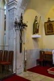 Hurch del ¡de Ð de San Jorge, Primosten, Croacia Fotos de archivo libres de regalías