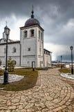 Hurch e campanile ortodossi del  di Ñ sull'isola fotografia stock libera da diritti