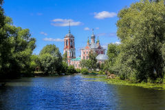 Сhurch of the Epiphany. View on the church of the Epiphany in Pereslavl-Zalessky, Russia Royalty Free Stock Photos