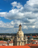 Hurch of Our Lady Frauenkirche in Dresden Royalty Free Stock Image