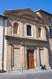 Hurch of St. Lodovico. Orvieto. Umbria. Italy. Stock Photography