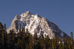 Hurd Peak. In Sierra Nevada Mountains of California Royalty Free Stock Photo