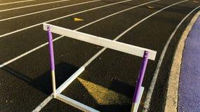 Hurdle Stock Photo
