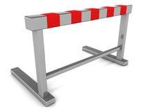 Hurdle barrier vector illustration