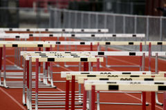Hurdle Collection Royalty Free Stock Photo