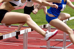 Hurdle race Royalty Free Stock Images
