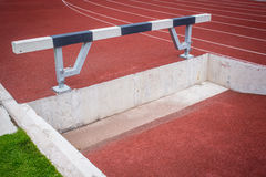 Hurdle sport challange Royalty Free Stock Photos