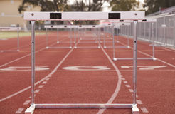 Hurdle Track Stock Images