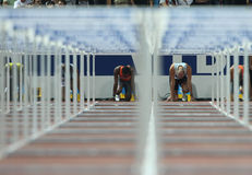 Hurdles Final Stock Image