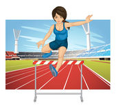 Hurdling Stock Photos