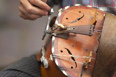 Hurdy-gurdy Royalty Free Stock Images