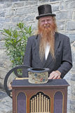 The hurdy-gurdy man Stock Image