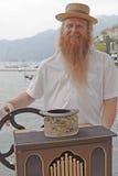 The hurdy-gurdy man Royalty Free Stock Photo