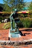 The Hurdy Gurdy Man, Newport, RI. Royalty Free Stock Photos