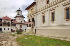 Orthodox church. Hurezi or Horezu Monastery, landmark attraction in Romania. Orthodox church. Hurezi or Horezu Monastery with the Chapel in the background Stock Photography