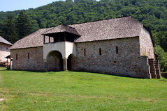 Travel to Romania: Hurezi Monastery Barn Royalty Free Stock Images