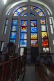Hurghada's Coptic Church, Egypt. Interior of the Coptic Church in Hurghada, Egypt royalty free stock photography