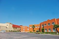 Hurghada, Ägypten -20 im August 2016: Luxus-Resort-karibische Welt S Lizenzfreies Stockfoto