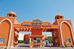 Hurghada, Ägypten -20 im August 2016: Luxus-Resort-karibische Welt S Stockfotografie