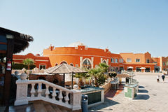 Hurghada, Ägypten -20 im August 2016: Luxus-Resort-karibische Welt S Stockbild