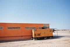 Hurghada, Египет -20 август 2016: Электричество CAT гусеницы стоковое изображение